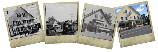 Danbury Country Store through time